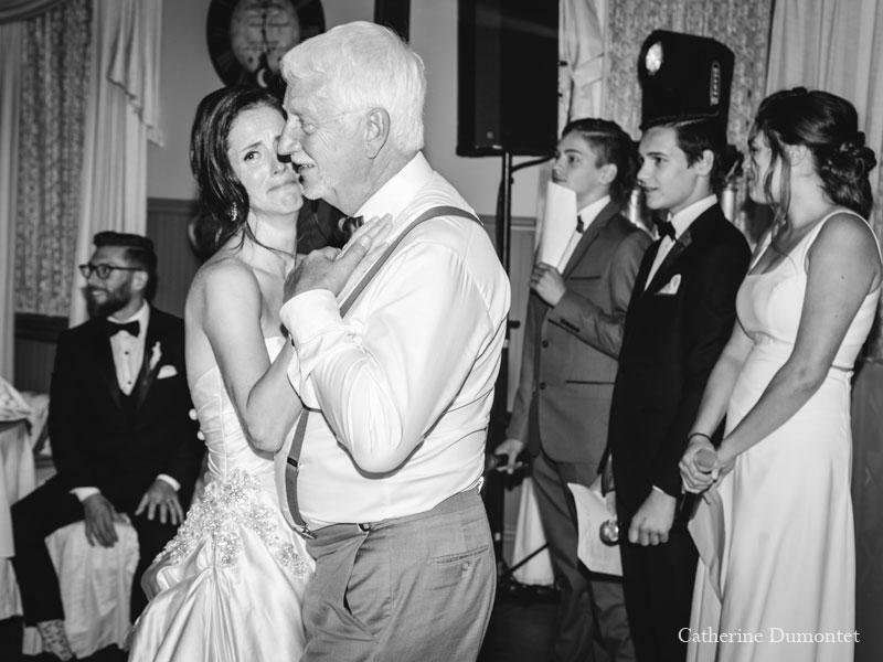 Première danse père-fille au Manoir Grant