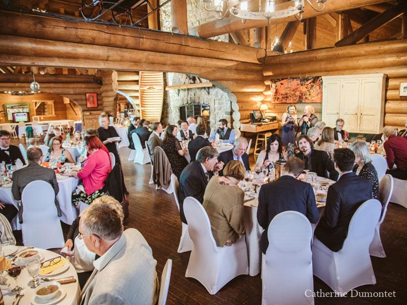 reception at Grand Lodge's Borivage restaurant