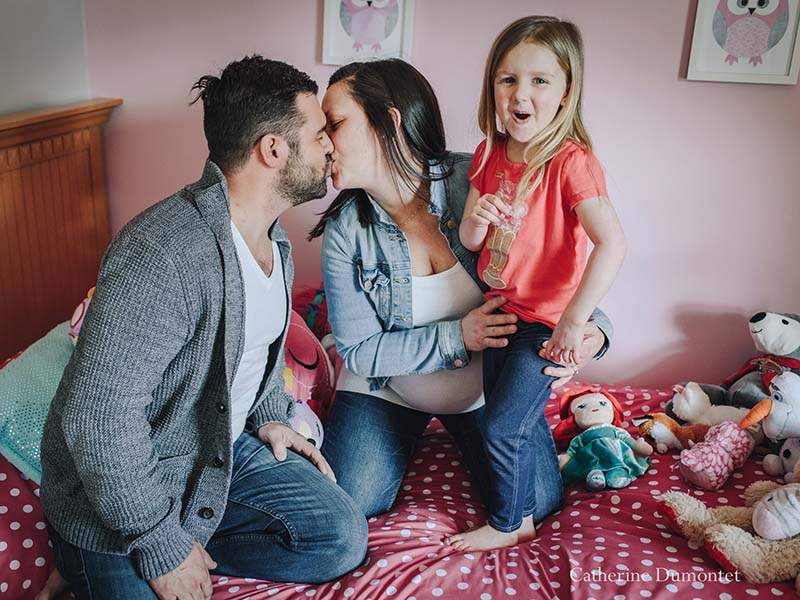 Photos de famille et de maternité à Montréal