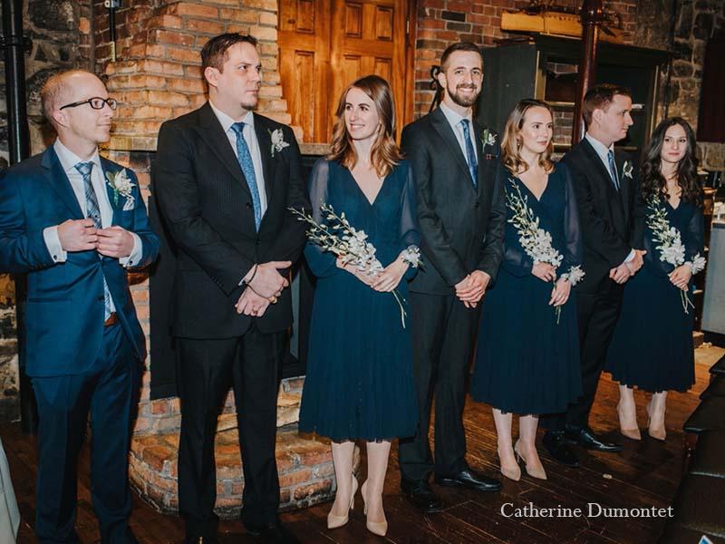 le cortège du marié au Vieux-Port Steakhouse
