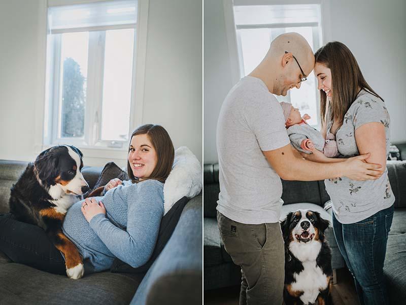combo séances maternité bébé