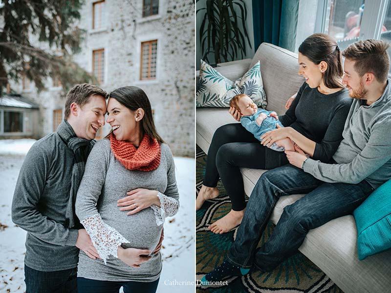 séances photos de maternité et bébé