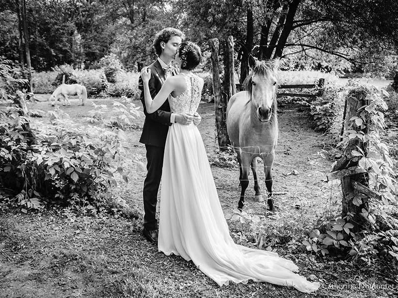 mariage au Vieux Moulin à Rigaud