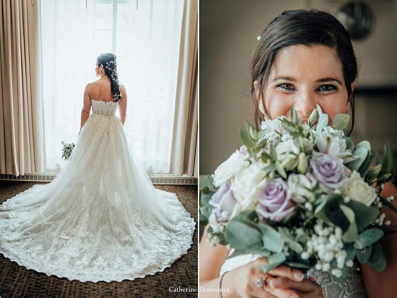 bride at Sommet des Neiges Tremblant