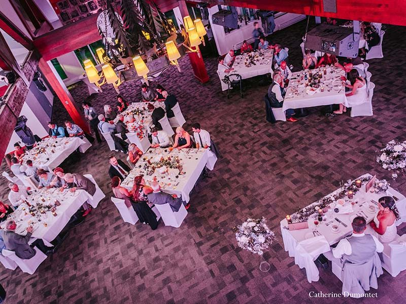 wedding reception at Grand Manitou in Tremblant