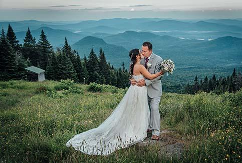 Mariage au sommet du Mont Tremblant