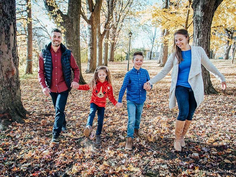 Séance famille à Boucherville