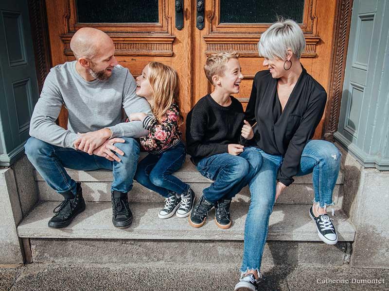 session photo de famille à Montréal