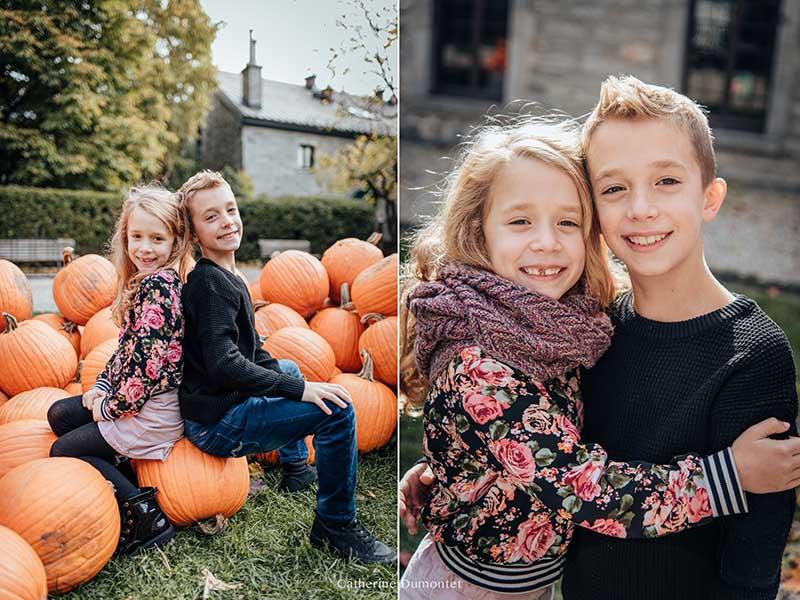 portraits de frère et soeur à Montréal