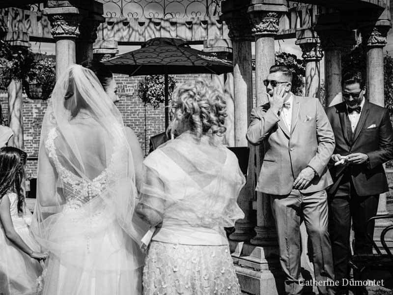 cérémonie de mariage à l'Ambroisie et l'Espace Canal