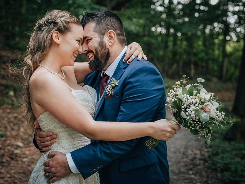 photographe mariage à Oka au Jude Pomme