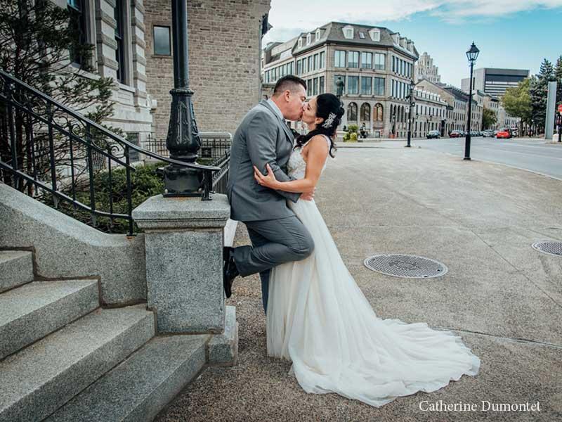 Mariage à l'Hôtel Place D'Armes dans le Vieux-Montréal