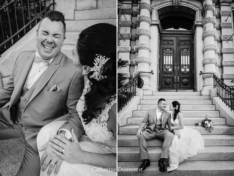 Mariage dans le Vieux-Montréal