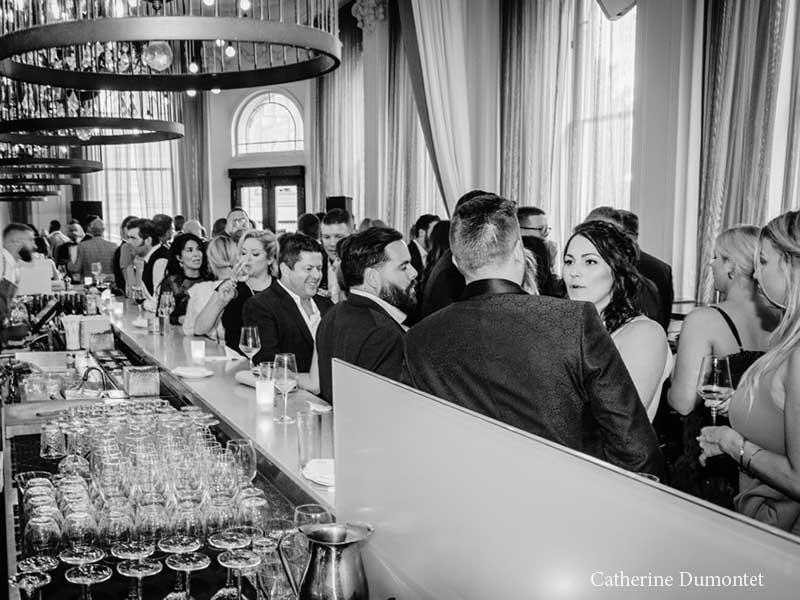cocktail de mariage à l'Hôtel Place D'Armes