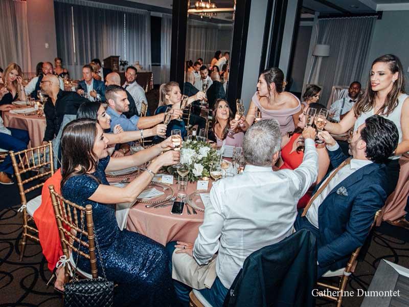 réception de mariage à l'Hôtel Place D'Armes