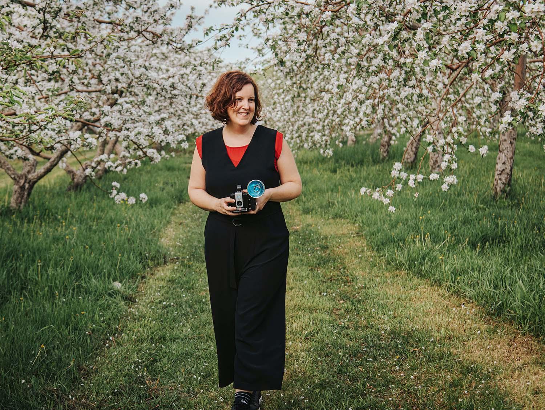 Portrait de Catherine Dumontet photographe