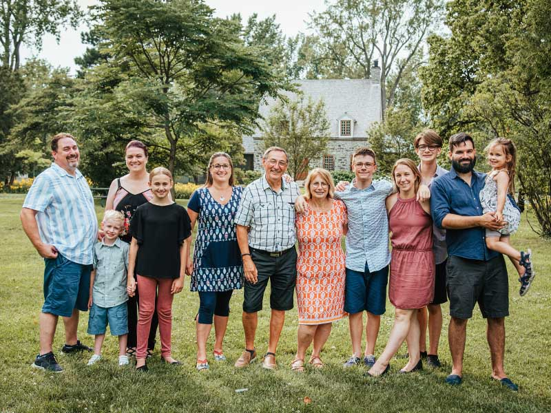 séance grande famille à Candiac