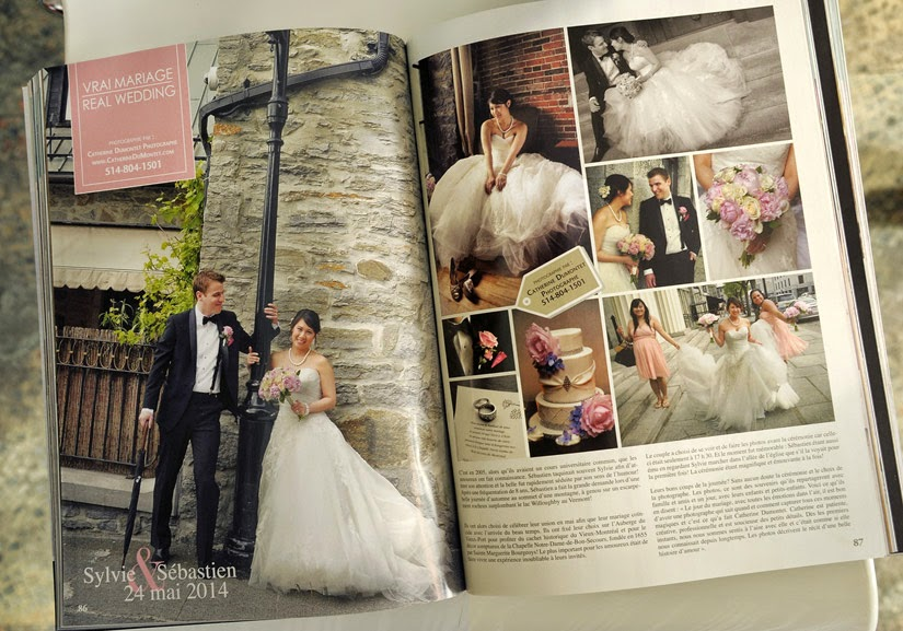 photos de la revue Mariage Chic