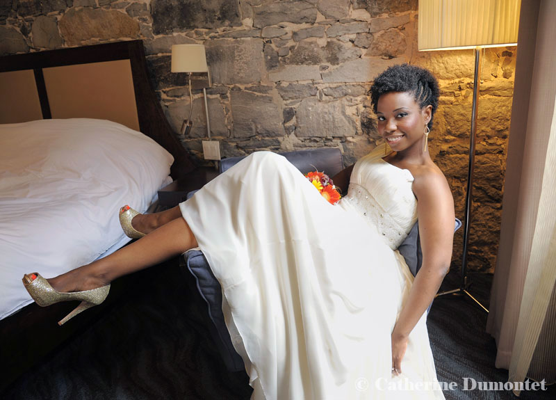 mariage à l'Hôtel Nelligan