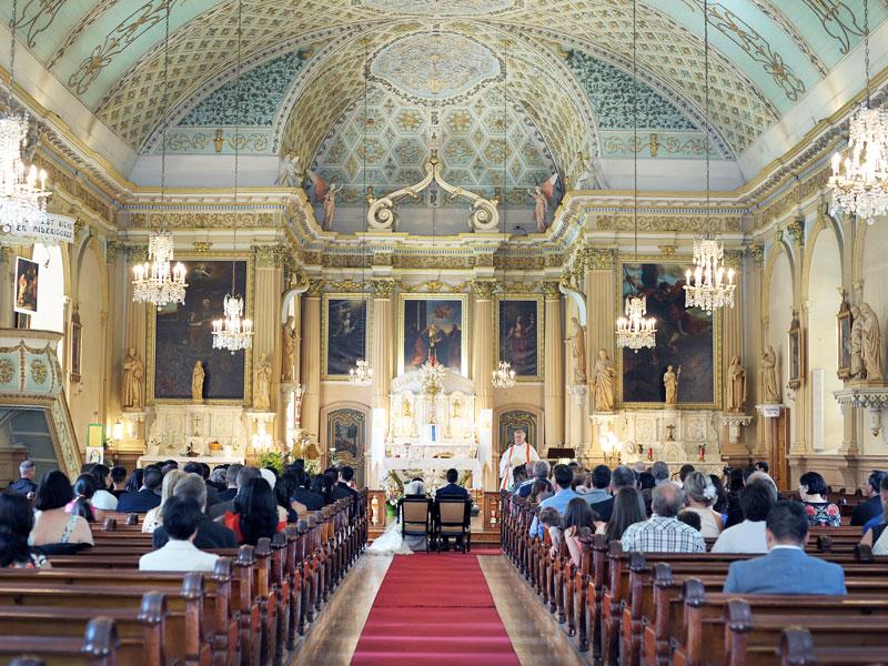 Mariage à L'Église de la Visitation de Montréal