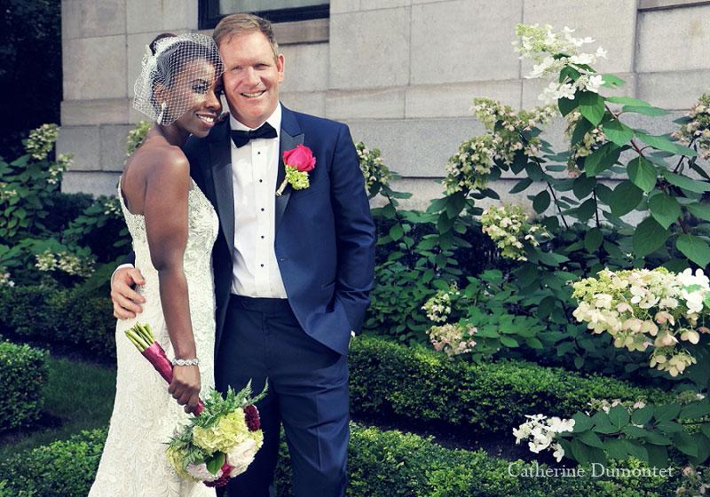 Les mariés sur la rue Sherbrooke