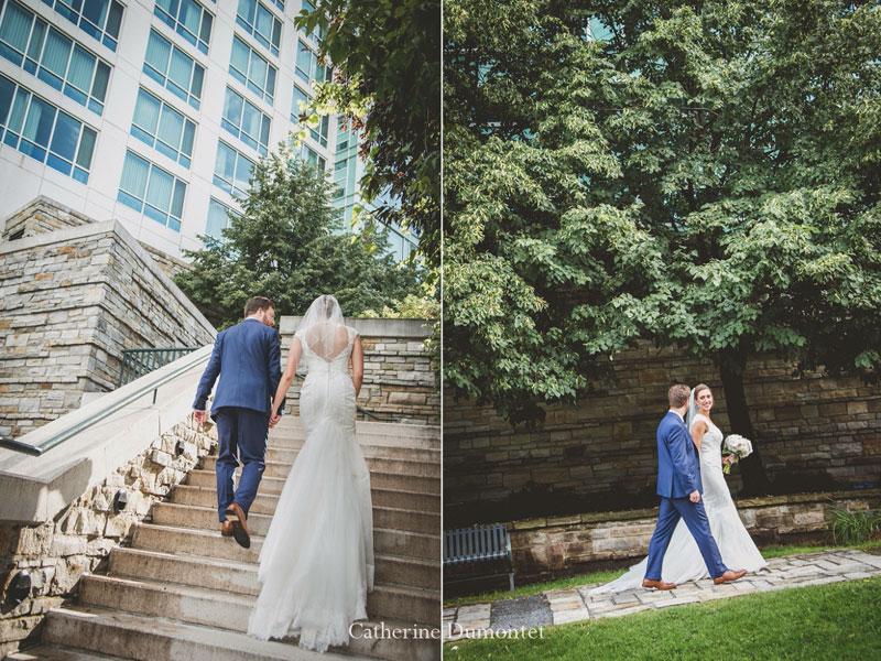 Les mariés au Hilton Lac-Leamy de Gatineau