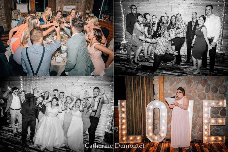 réception mariage au Mont-Gabriel