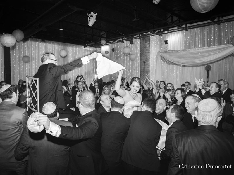 danse traditionnelle d'un mariage juif