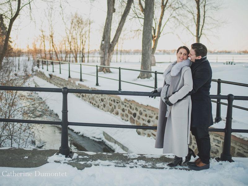 photo de maternité au Fort Chambly