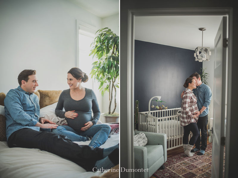 Photo de maternité sur la rive-sud de Montréal