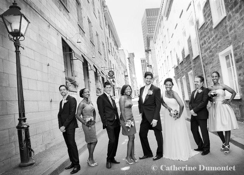 mariage au Cabaret Lion D'Or de Montréal