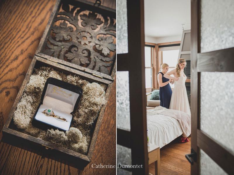 La préparation de la mariée au Elysium