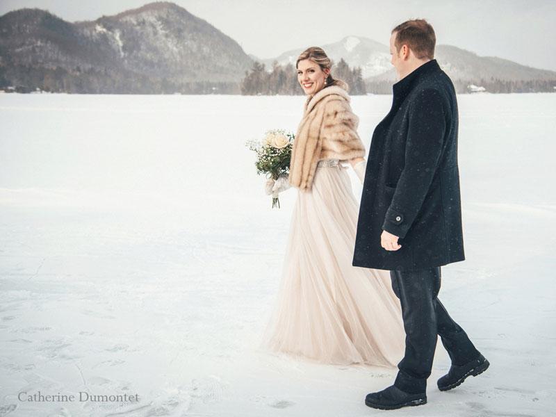 mariage dans les Laurentides à Tremblant