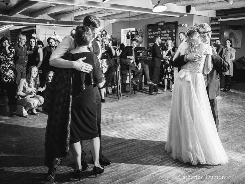 danse avec les parents au Resto Bar Le Rustique