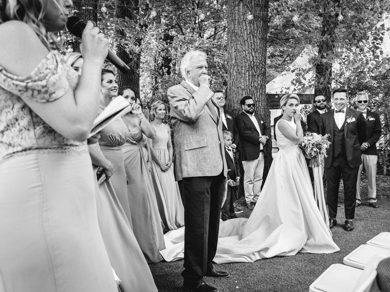 cérémonie de mariage à l'Ile Navark