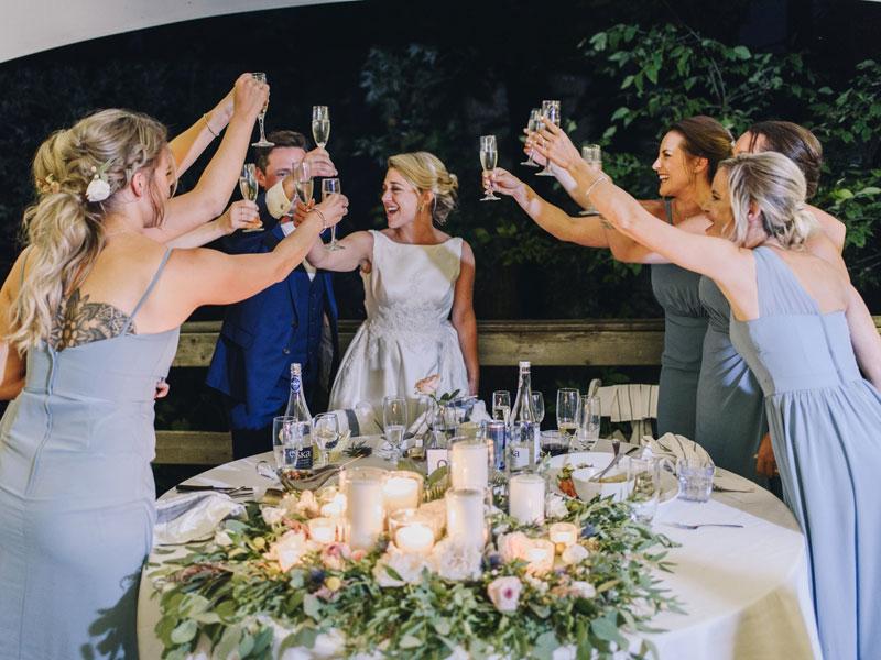 Toast des filles d'honneur
