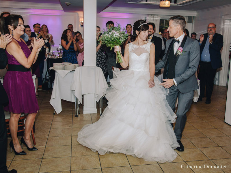 entrée des mariés à La Distinction