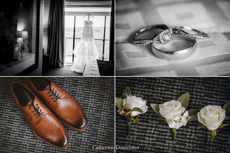 wedding accessories at Hotel Mont Gabriel