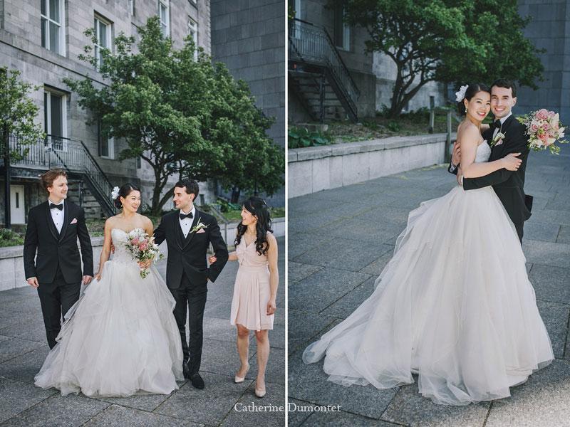 mariés et meilleurs amis