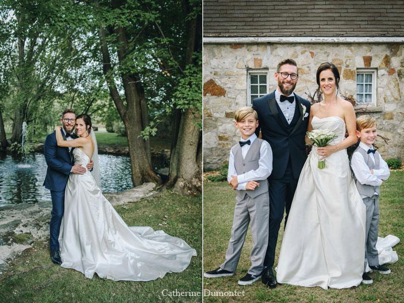 Mariage au Manoir Grant à Valleyfield