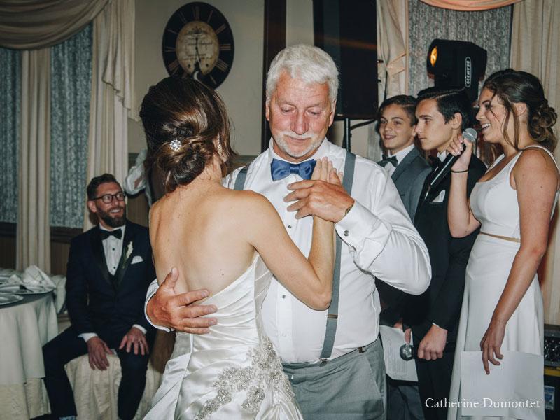 Première danse père fille au Manoir Grant