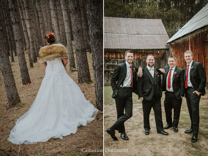Wedding in Mont-Tremblant
