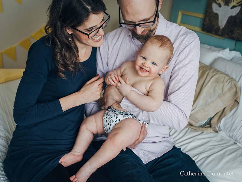 Séance combo maternité et bébé