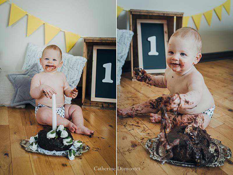 bébé Charlotte célèbre ses un an