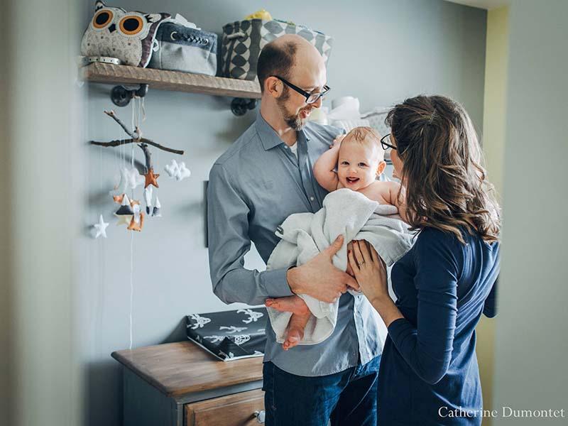 photos de maternité et de bébé
