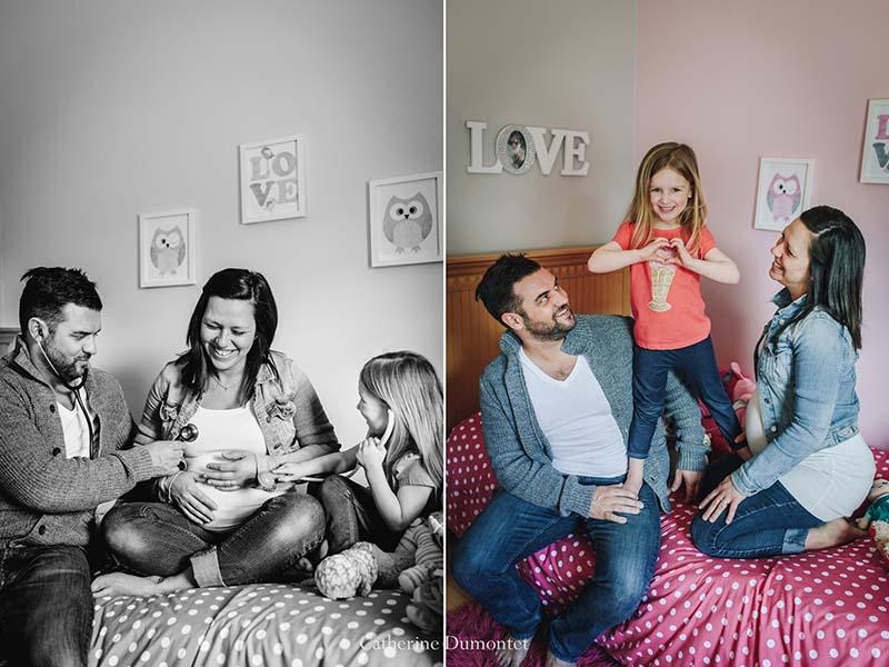 Séance famille et de maternité à Montréal