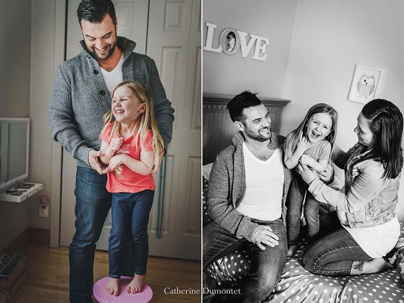 Photos de famille et de maternité à domicile