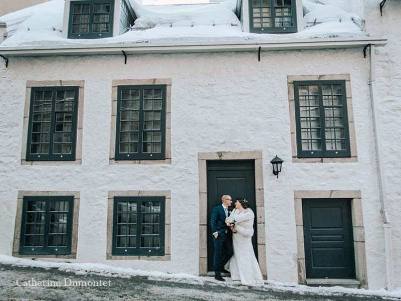 Mariage en hiver au Vieux-Port Steakhouse