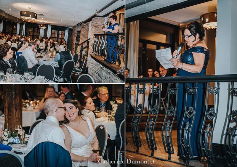 speech de la maman au Vieux-Port Steakhouse