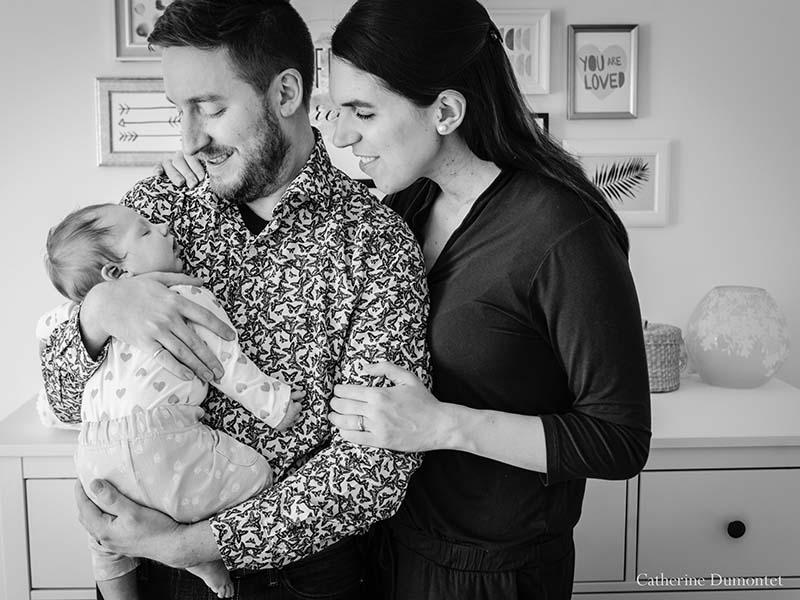 séance photos de maternité et de bébé